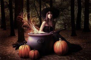 Хеллоуин ритуалы гадания