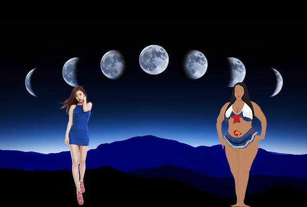 убывающая луна заовор на похудание